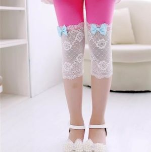 Other - Delicate Laced Bottom Leggings